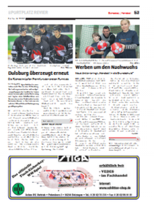 Start der Aktion Handball in die Grundschule - Revier Sport